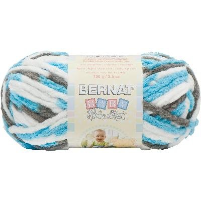 Bernat Baby Blanket Sail Away Yarn, 86 Yd.