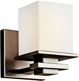 2 Light Incandescent 200 Total Watts Chrome Kichler 45150CH Tully Vanity