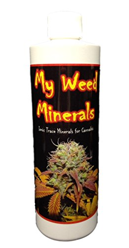 My Weed Minerals Ionic Trace Micro Nutrients for Growing Marijuana. 16oz Concentrate Nutrients for Growing Cannabis Plants.