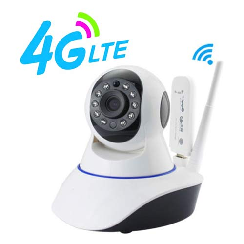 720P 4G/3G/WIFI SIM Card Pan/Tilt Wireless IP Smart Home Security Camera for iPhone Android
