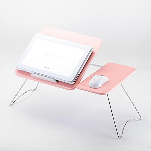 Muzyo Computer Desk Laptop table Simple bedside desk Easy-lift folding computer desk (does not include Computer), 1 by Muzyo