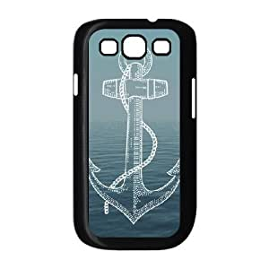 Kyle5v Samsung Galaxy S3 Cases ancla F4c19e2205c859d974a38d0d77f6353f design for Men, case for Samsung Galaxy S3 mini for Women, {Black}