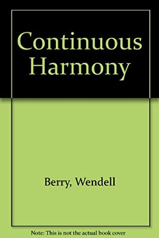 book cover of A Continuous Harmony