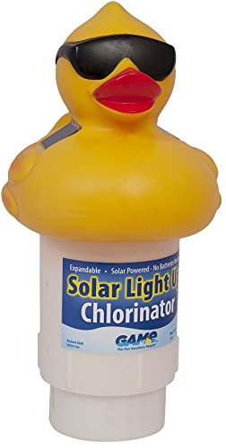- GAME 8002 Solar Light Up Duck Pool Chlorinator