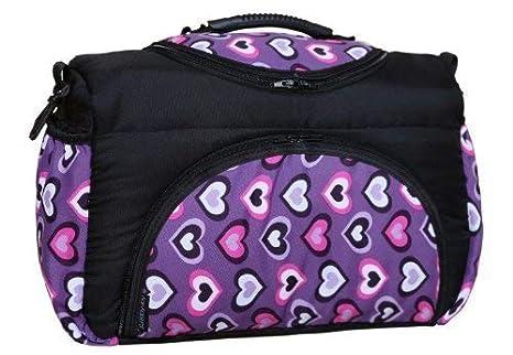 TP-25 bolsa cambiador con accesorios PIA de Baby-joy XXXL colour negro Patrones de vestidos para tallas cuori Viola bolsa para pañales sucios cuidado bebé ...