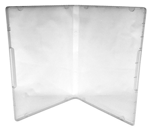 ((50) CheckOutStore Plastic Storage Cases for Rubber Stamps (Clear/Spine: 14 mm / 8 Tabs))