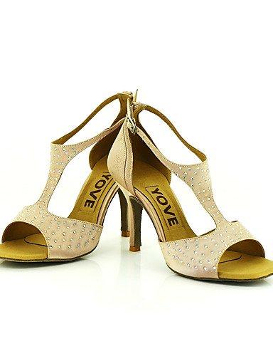 YFF Customizable Female Profession Shoes,Yellow,US9/EU40/UK7/CN41 Dance Shoes,Yellow,US9/EU40/UK7/CN41 Profession B07335N5SV Shoes d0cf42