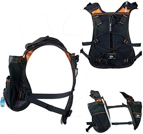 Orange Mud Endurance Pack 2.0, Hydration Pack, Orange, 2L Bladder Super Breathable, Lightweight Durable Hydrating Backpack Runner, Bikers, Sports