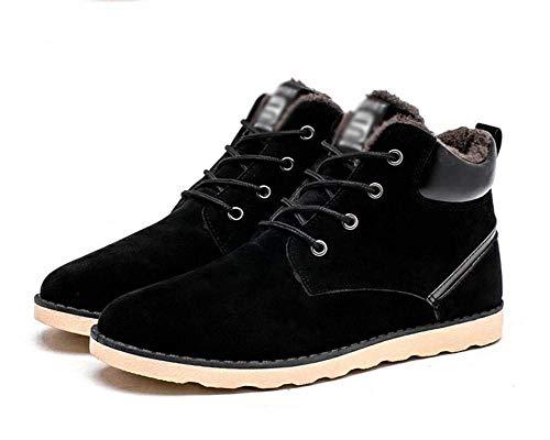 Hommes Chaudes De Fuxitoggo Eu 40 Épaississement Noir Pour Surdimensionnées D'hiver Taille Chaussures coloré Occasionnel 47 Neige Bottes wfqCfnv4