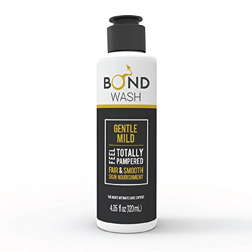 BOND​ Men's Intimate Wash 4.05 Fl. Oz. (120mL) The Best Hygiene Care Products for Men. Confidence Booster & Good for Daily-use. (Gentle Mild) - Intimate Care