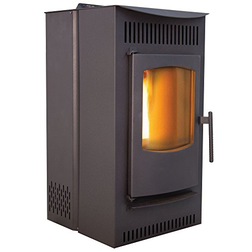 Castle 12327 Serenity Wood Pellet Stove with Smart Controller (Best Wood Pellets For Heating)