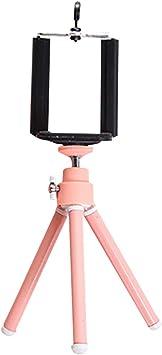 Westeng Mini Trípode Móvil Portátil Plegable Soporte del Trípode para Smartphone, Cámara, Phone, Trípode de Viaje Universal (Rosa): Amazon.es: Electrónica