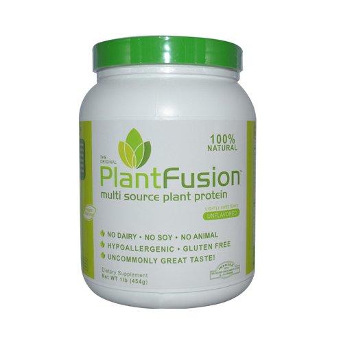 Multi fuente de planta de proteína Natural (sin sabor) 1 PlantFusion libras polvo