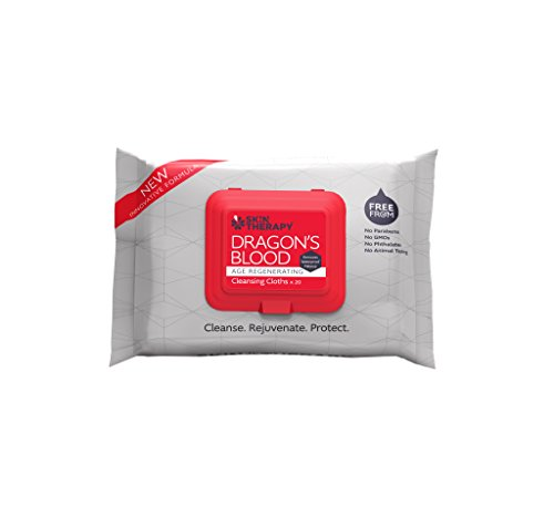 Skin Therapy Dragons Blood Wipes, 20