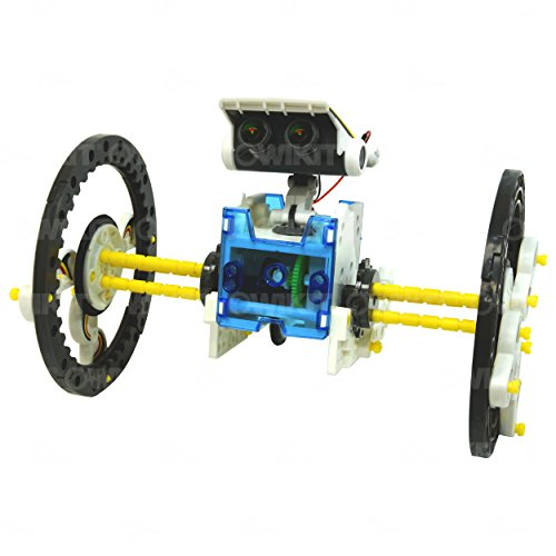 41fyeVywqmL - 14-in-1 Educational Solar Robot   Build-Your-Own Robot Kit   Powered by the Sun