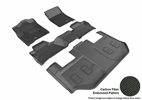 3D MAXpider Complete Set Custom Fit All-Weather Floor Mat fo