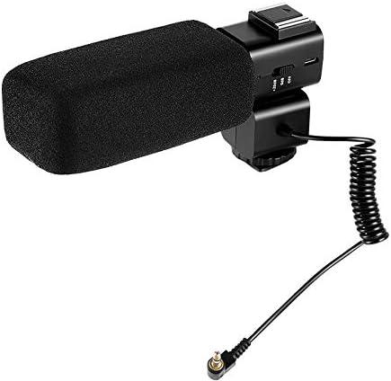 Leoie CM530 Video Recording Stereo Microphone for DSLR Stereo Camera Camcorder Cardioid Mic for Ordro//Sony//Nikon//Canon DV