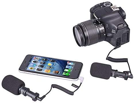 Samsung CVM-VM10 II Comica Micro Compact Directional Condenser Shotgun Video Microphone Panasonic Nikon Fuji for Canon Smartphones and GoPros Olympus Digital SLR Cameras Sony