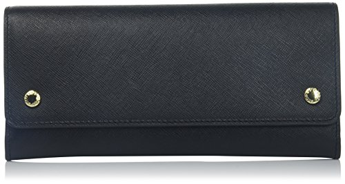 Iola Continental Wallet Wallet, Black, One Size by ECCO