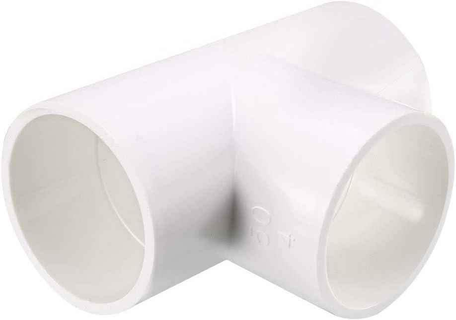 sourcing map 20mm raccord en t tuyaux PVC Connecteur couplage en T