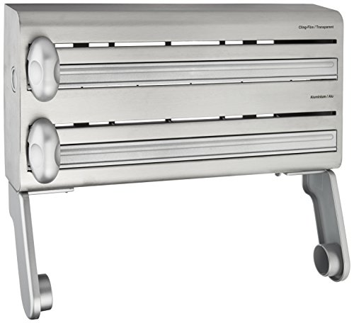 (Master Class Stainless Steel Cling Film, Foil And Kitchen Towel Dispenser)