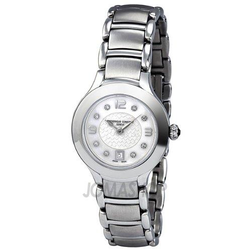 Frederique Constant Women's FC-220WAD2ER6B Delight Stainless Steel Bracelet Watch