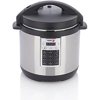Fagor 670041970 Premium Electric Pressure and Rice Cooker, 8 quart, Silver