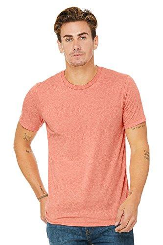 Bella Canvas Herren Triblend Kurzarm T-Shirt Sonnenuntergang Triblend
