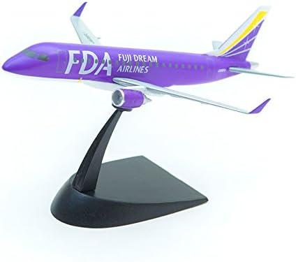 フジドリームエアラインズ 1/300 FDA エンブラエル 6号機 パープル 塗装済み半完成キット