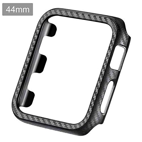 Ultra-thin Carbon Fiber PC Case,Ultra Thin Carbon Fiber Hard PC Edge Shock-Proof Full Body Protective Cover For IWatch 1/2/3/4 Watch Case Frame 38MM 42 MM 40MM 44MM ()