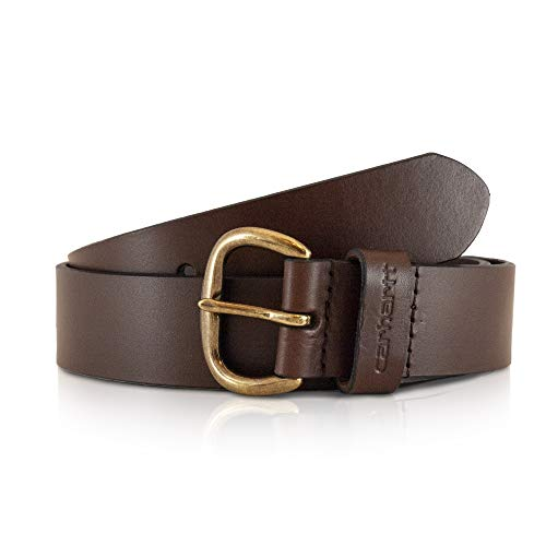 Carhartt Women's Signature Casual Belt, Jean Brown, Medium ()