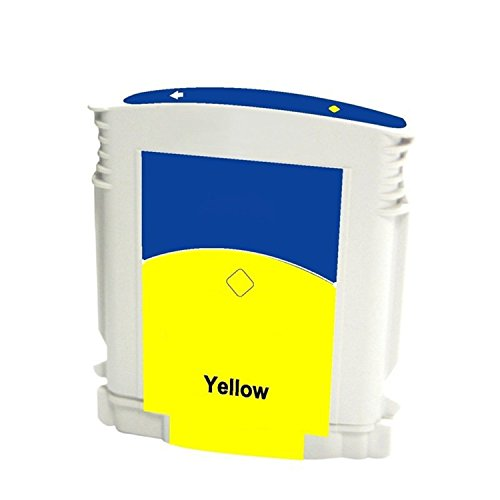 (3 Packs G&G Yellow Ink Cartridge Remanufactured Inkjet Compatible with HP C4838A HP No. 11Yellow)