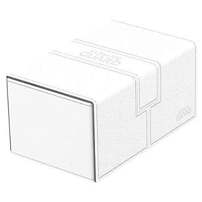 Ultimate Guard Twin Flip'n'Tray 160+ XenoSkin White: Toys & Games