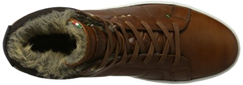 d'Oro Pantofola Canaverse Hohe Uomo Tortoise Sneaker Fur Mid Braun Shell Herren OOqdHr