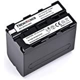 Newmowa NP-F960/NP-F970 Replacement Battery for Sony DCM-M1 MVC-CD1000 HDR-FX1 DCR-VX2100E DSR-PD190P NEX-FS700RH HXR-NX3 Camera as NP-F950 NP-F960 NP-F975