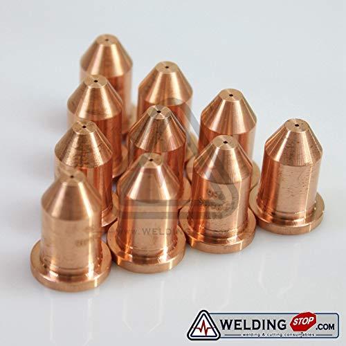 120606 WS Plasma Cutting Torch Consumables Nozzle//Tips PKG//10 Anncus Ref
