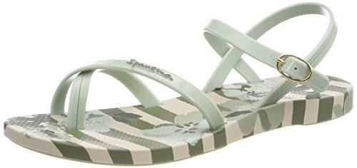 Tongs Fem Ipanema V Femme Sand Mehrfarbig green Fashion beige q1pwp7Tnv