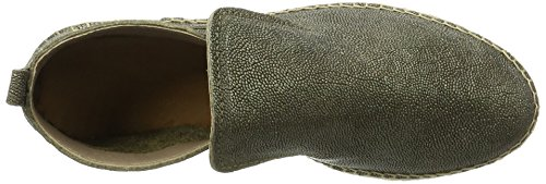 Shabbies Amsterdam Women's Espandrilles Slipper Metallic Espadrilles, Green (Dark Olive), 9 UK (41 EU)