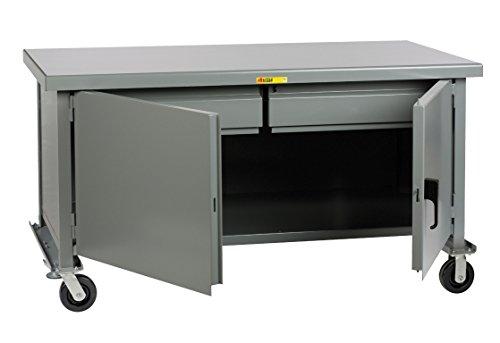 Drawer Workbench 2 - Little Giant WWC36722HD6PHFL Mobile Heavy-Duty Cabinet Workbench, 3600 lb. Capacity, 2 Heavy-Duty Drawers, 36