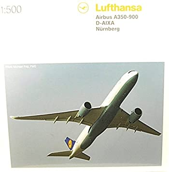 Herpa 529037 001/Lufthansa Airbus A350 XWB Miniature Vehicle: Amazon