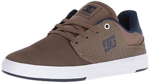 DC Brown Blue Skate Black Red Men Tc 8D Plaza Shoe Athletic SSqWPZFw7r