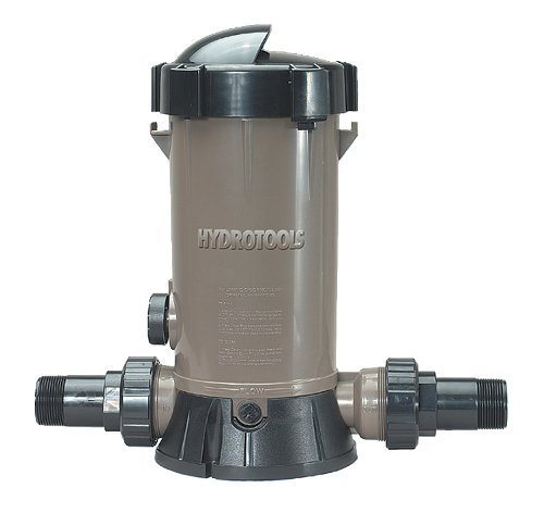 - HydroTools by Swimline Super Premium In-Line Automatic Pool Chlorine Feeder
