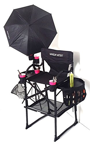 """PRESALE--65TTR Unique Tuscany PRO Studio Professional Make up & Hair Chair with Professional Lamp Combo-High Quality Product--29"""" SEAT HEIGHT"""