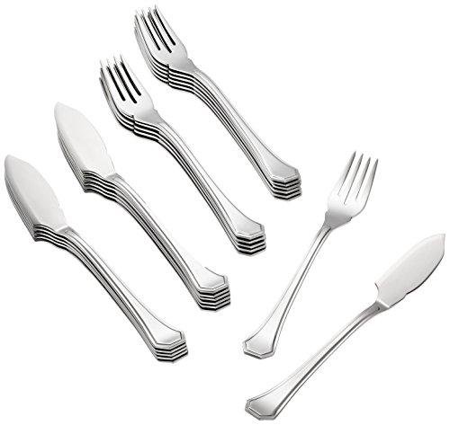 Mepra 24-Piece Cellini Fish Knife/Fork Set