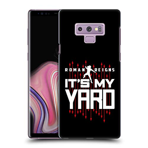 (Official WWE Roman Reigns It's My Yard 2017/18 Superstars 4 Hard Back Case Compatible for Samsung Galaxy Note9 / Note 9)