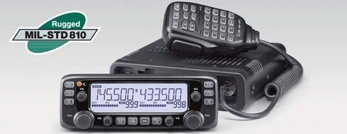 Icom Original IC-2730A 144/440 Dual Band Amateur Ham Mobile Transceiver - 50 Watts (Radio Base Ham Station Kit)