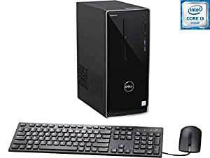 2017 Newest Edition Dell Inspiron i3650 High Performance Desktop, Intel Core i3 (3.7GHz), 6GB RAM, 1TB HDD, SuperMulti DVD, Win10