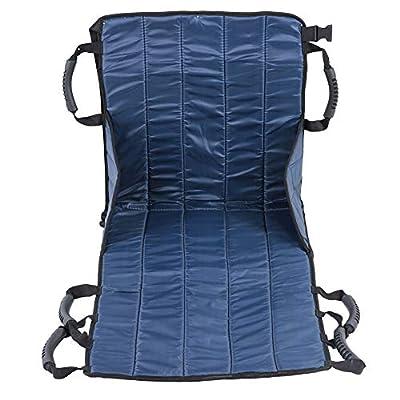Transfer Belt, Patient Lift Sling Transfer Seat Pad Medical Mobility Emergency Wheelchair Transport Belt Emergency Transfer for wheelchairs seat Belt Full Body Doctor Lifting Sling Sliding Disk Transf