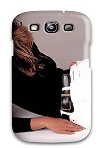 Galaxy S3 Hard Back With Bumper Silicone Gel Tpu Case Cover Cindy Crawford