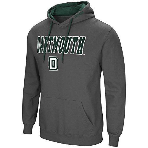 (Colosseum Mens Dartmouth Big Green Pull-Over Hoodie - XL)